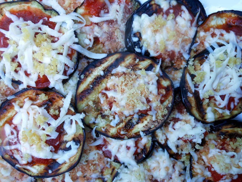 Grilled Eggplant Parmesan  Grilled Eggplant Parmesan Sugar Dish Me