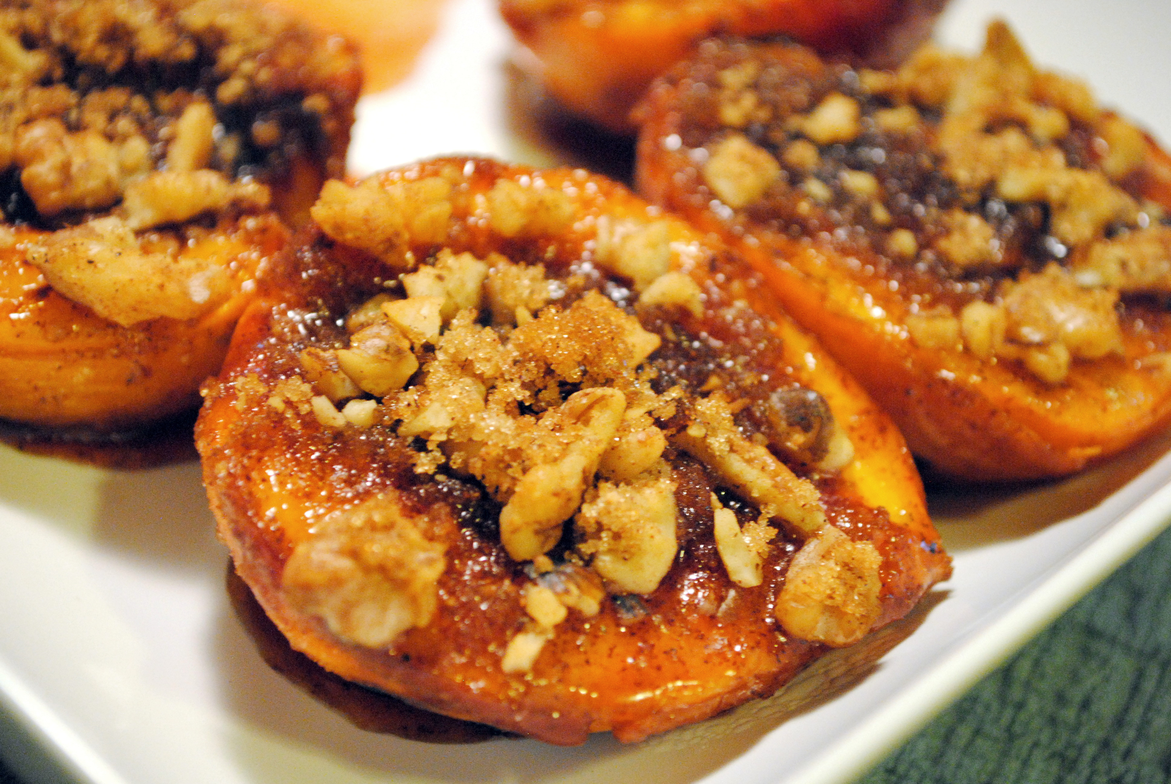 Grilled Peaches Dessert  Grilled Peaches With Brown Sugar and Cinnamon • The Cocina