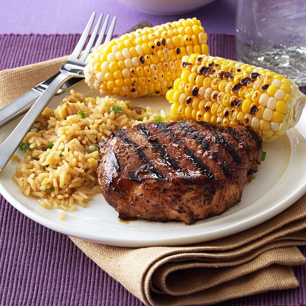 Grilled Pork Chops  Favorite Grilled Pork Chops Recipe