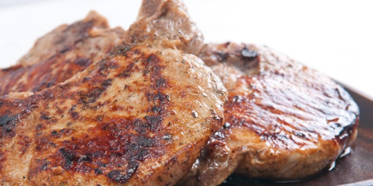 Grilled Pork Chops  Spice Rubbed Grilled Pork Chops recipe