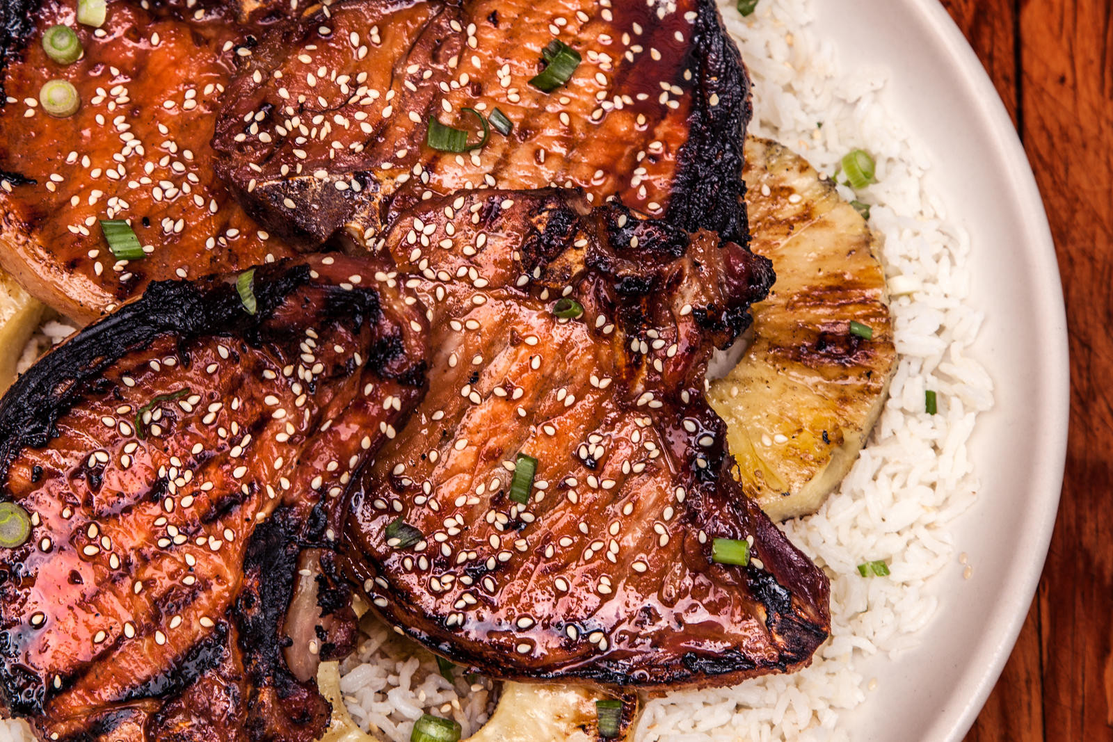 Grilled Pork Chops  How to Make the Best Teriyaki Chicken Chowhound