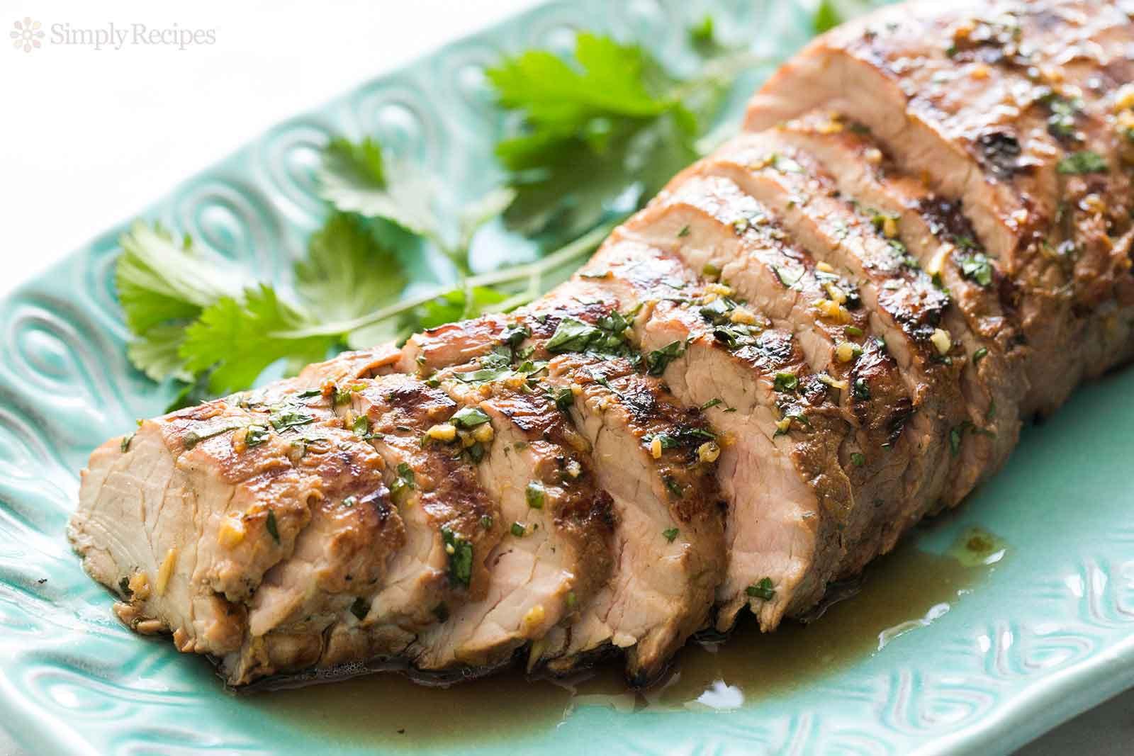 Grilled Pork Loin  Grilled Ginger Sesame Pork Tenderloin Recipe