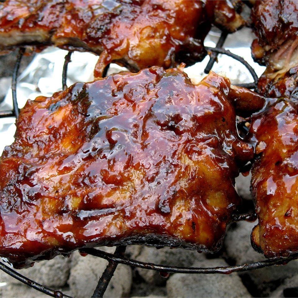 Grilled Pork Ribs Recipe  Barbecued Ribs recipe All recipes UK