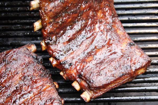 Grilled Pork Ribs Recipe  Katie Brown