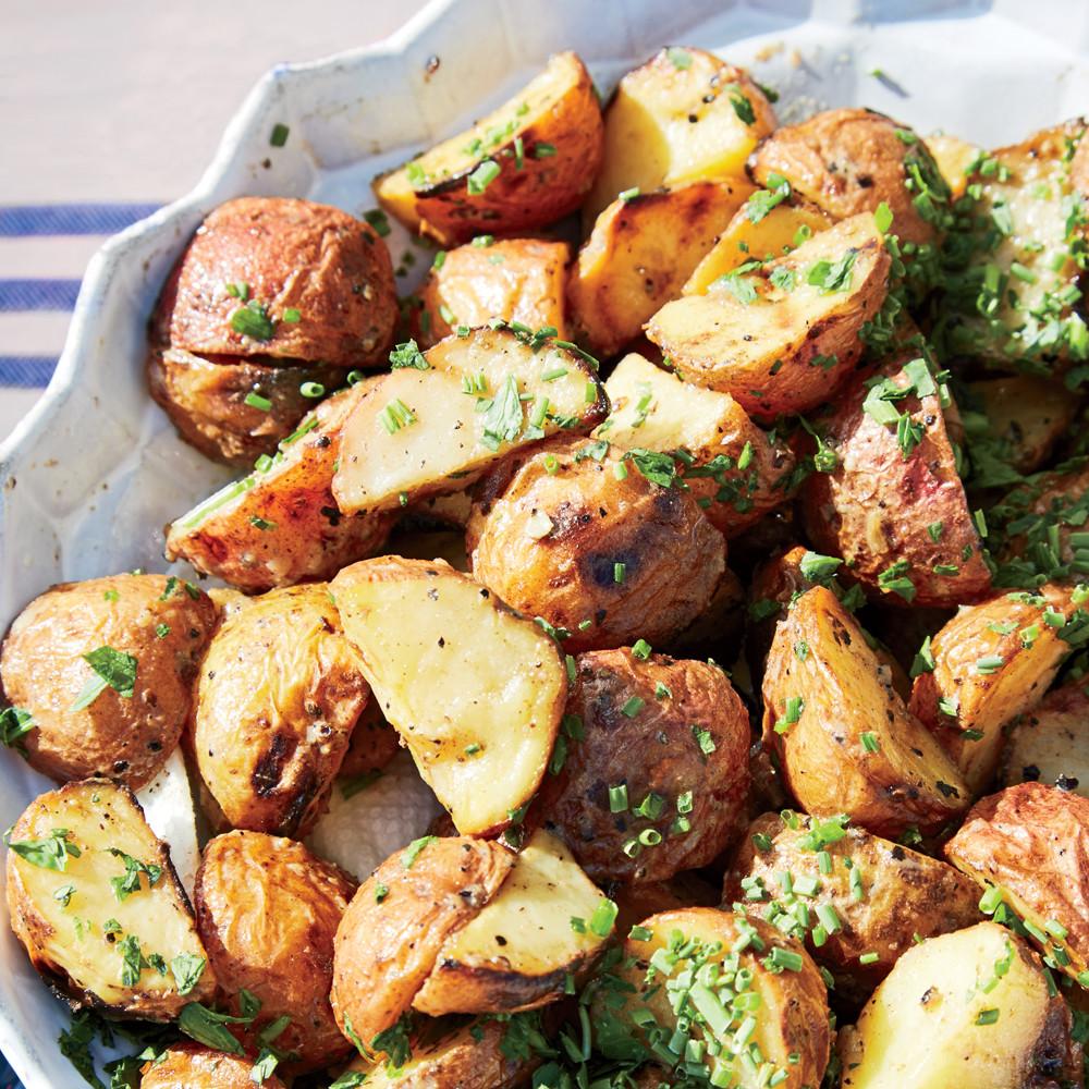 Grilled Potato Salad  Grilled Potato Salad Recipe