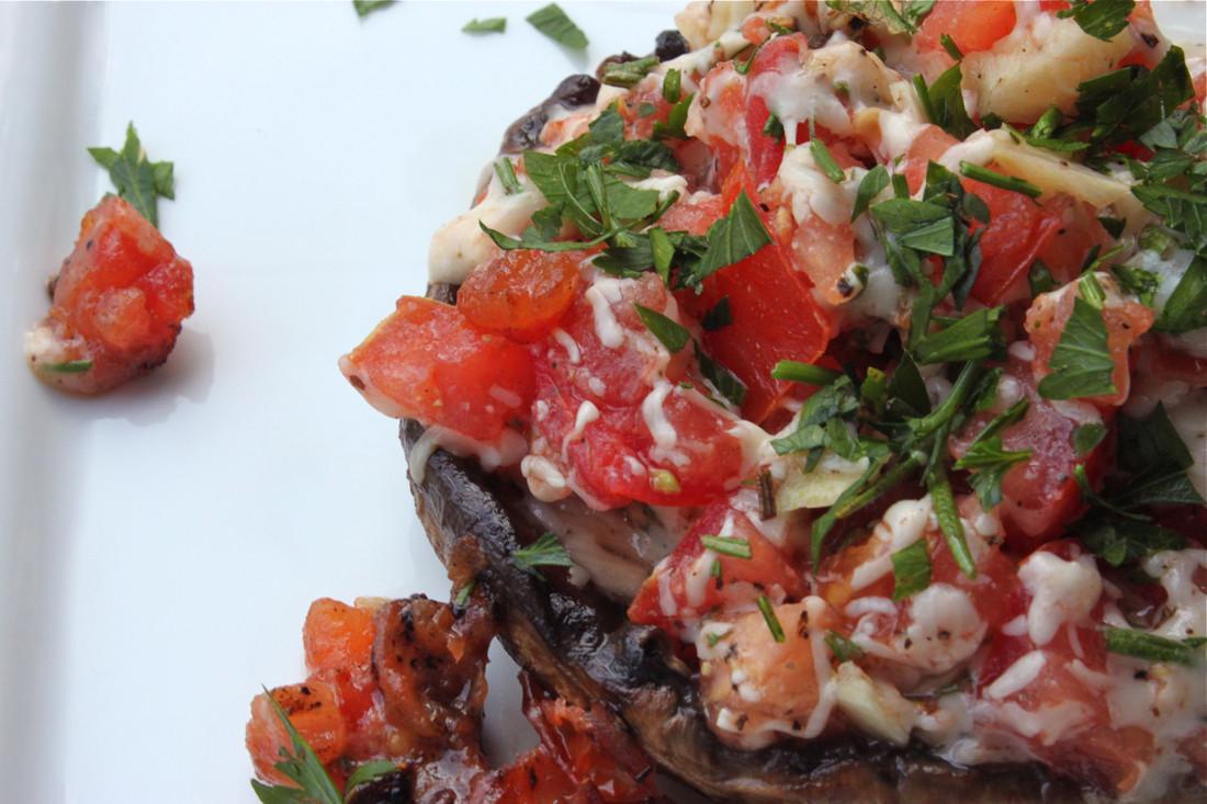 Grilled Stuffed Portobello Mushrooms  10 Top Recipes for the Grill La Bella Vita Cucina