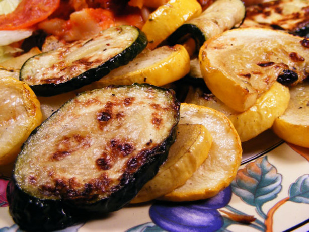 Grilled Summer Squash  Marinated And Grilled Zucchini And Summer Squash Recipe