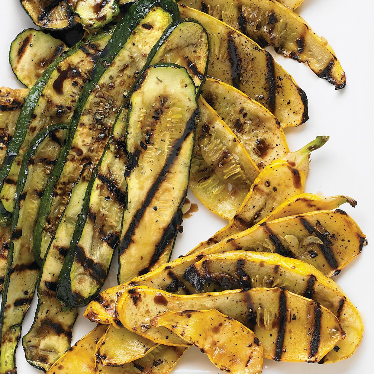 Grilled Summer Squash  Grilled Zucchini Summer Squash Recipe — Dishmaps