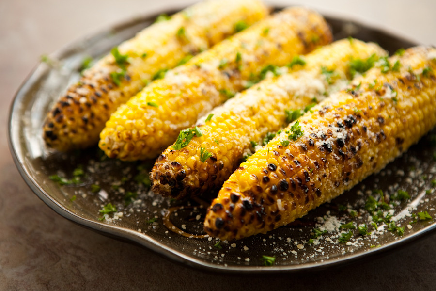 Grilled Sweet Corn  Grilled Cheesy Corn The Cob Recipe — Dishmaps