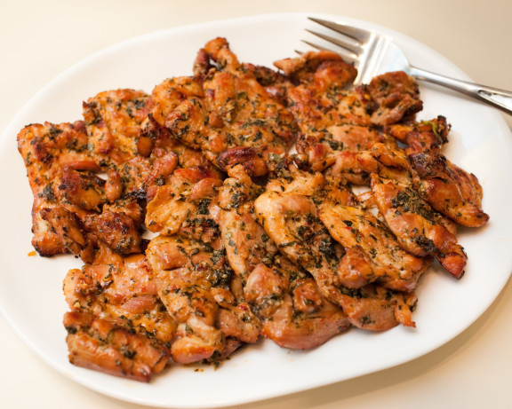 Grilling Boneless Chicken Thighs  Thai Grilled Chicken Thighs Recipe Food