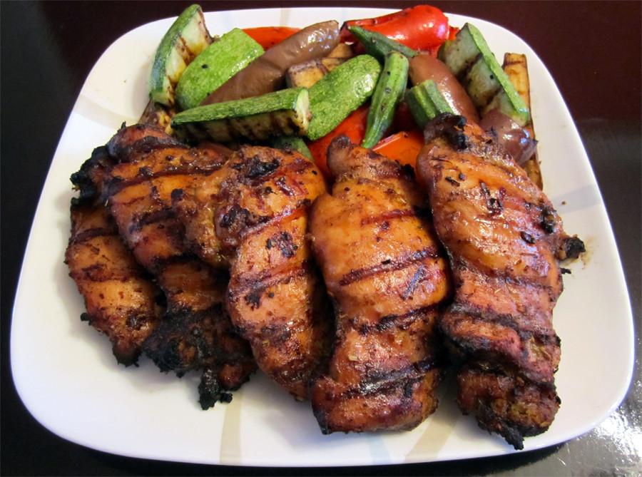 Grilling Boneless Chicken Thighs  PEMBEKAL DAGING GRIILL Dean s Barbeque