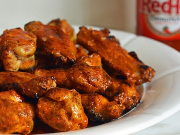 Grilling Chicken Wings  Grilled Chicken Wings with Seasoned Buffalo Sauce ce