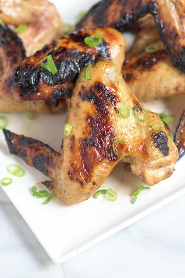 Grilling Chicken Wings  Pho Inspired Grilled Chicken Wings Recipe