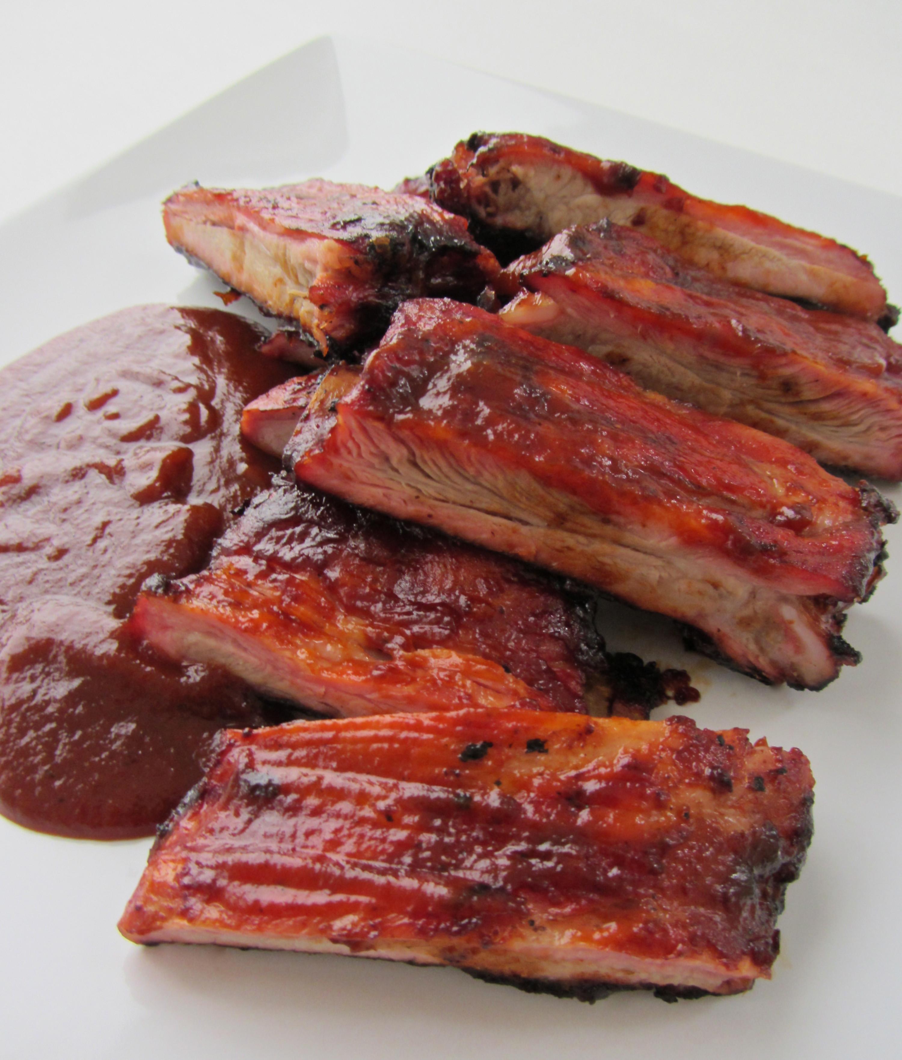 Grilling Pork Ribs  Sriracha BBQ Pork Ribs