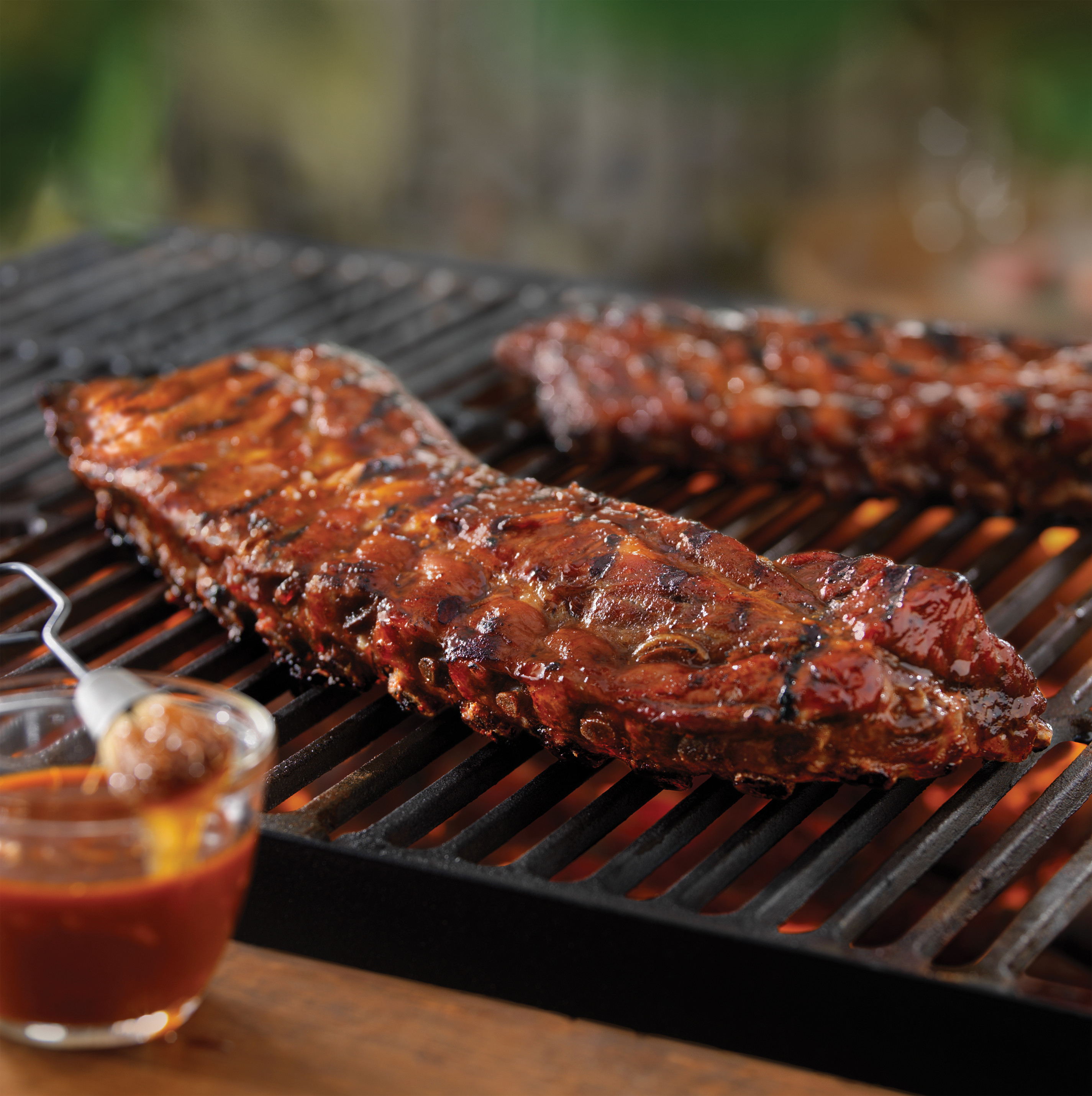 Grilling Pork Ribs  Tangy Grilled Back Ribs Pork Recipes Pork Be Inspired