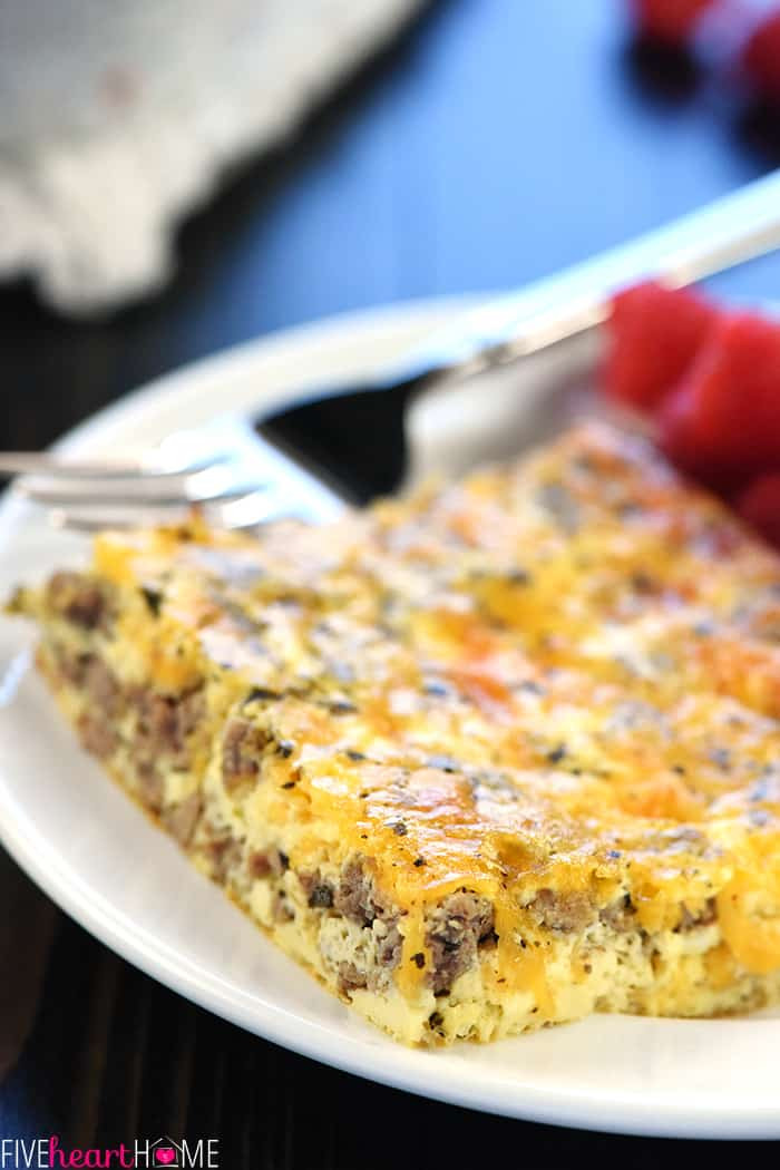 Ground Beef And Eggs  Ground Beef Egg & Cheese Breakfast Casserole