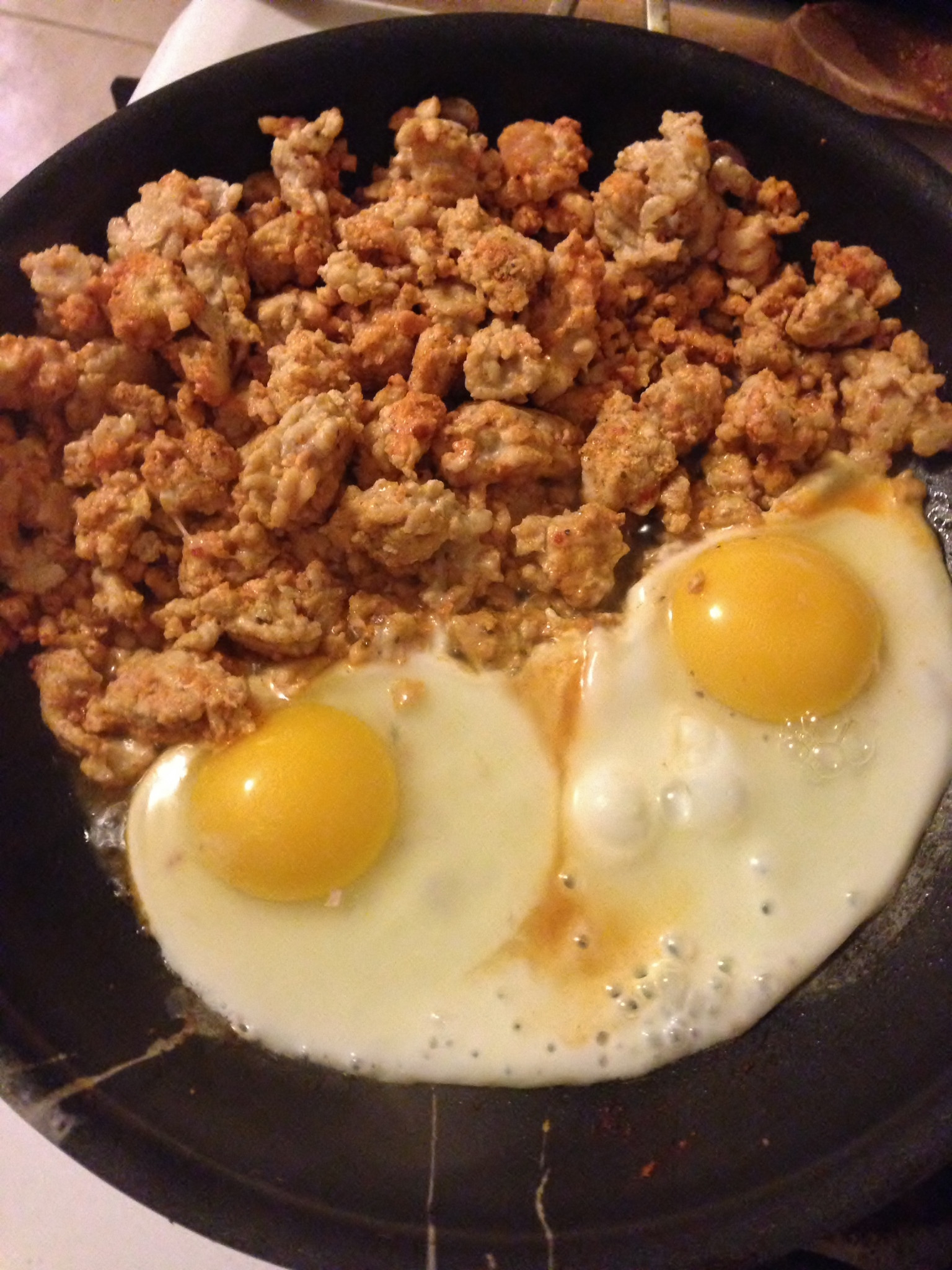 Ground Beef And Eggs  Ground Turkey with Rice and Beans