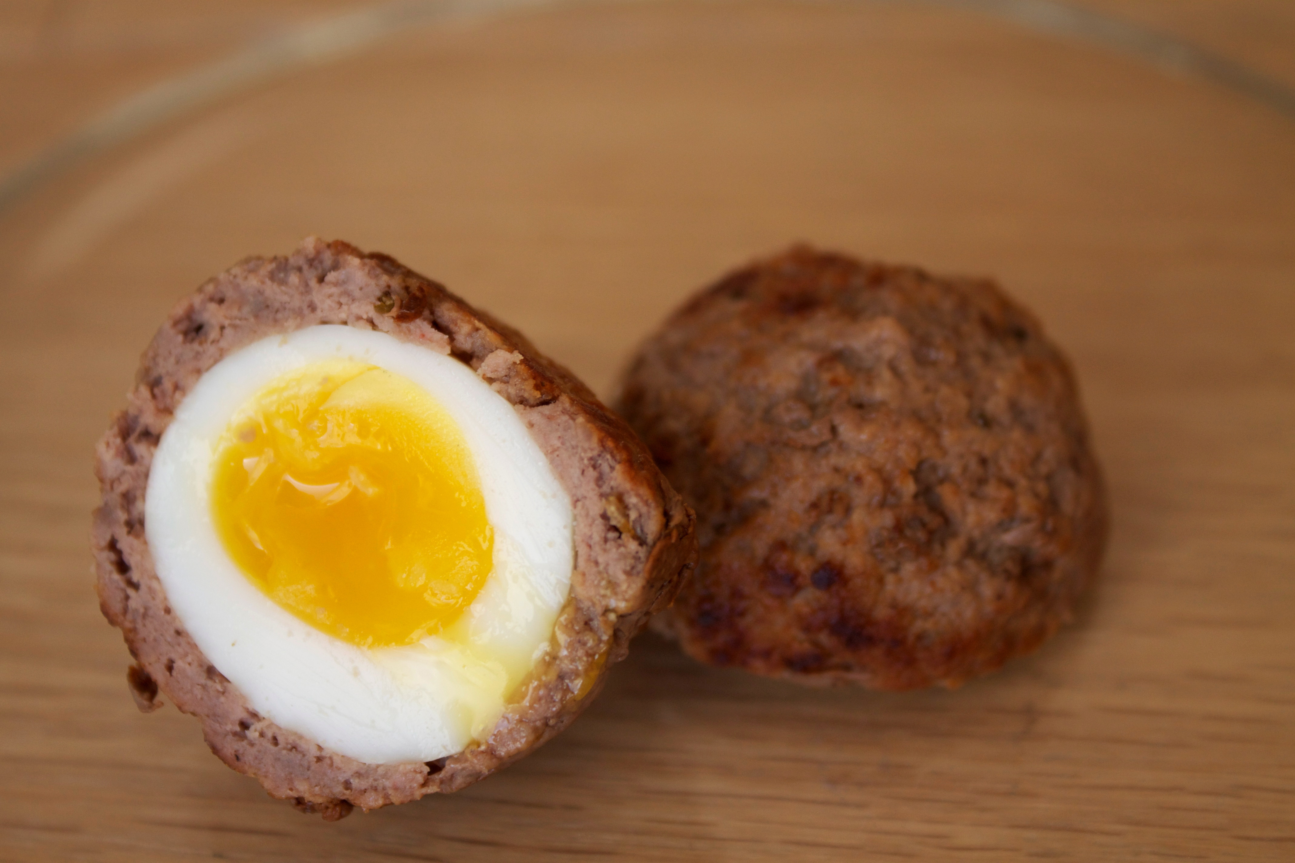 Ground Beef And Eggs  Quail Scotch Eggs