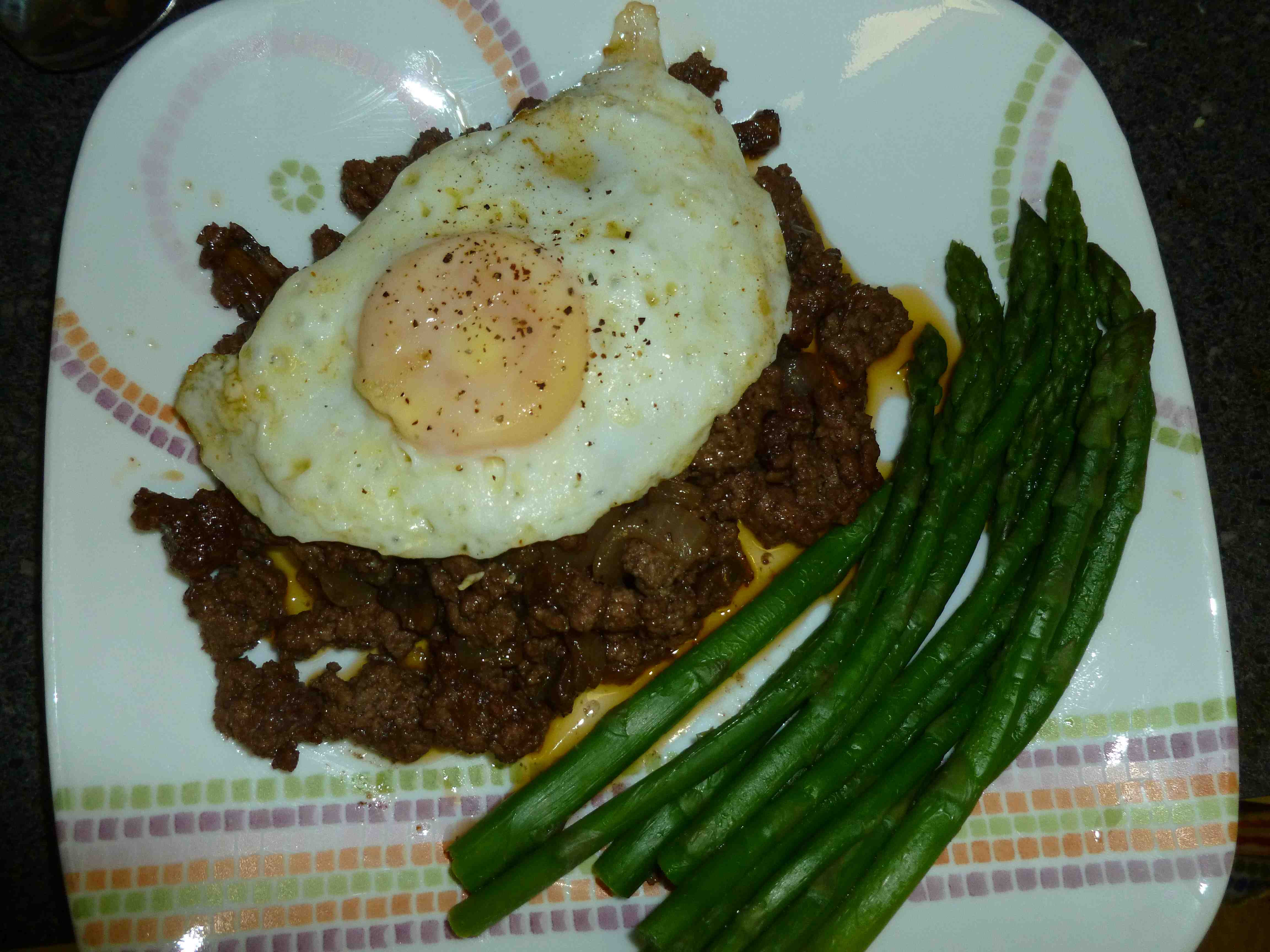 Ground Beef And Eggs  The Grok Pot