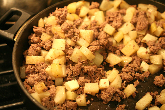 Ground Beef And Potatoes Recipes  tacos with potatoes and ground beef