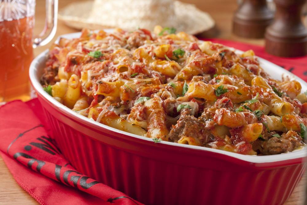 Ground Beef Casserole Recipes  baked pasta casserole ground beef