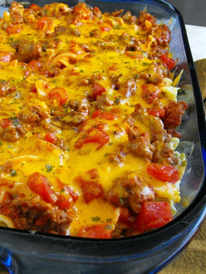 Ground Beef Casserole Recipes  breakfast casserole ground beef