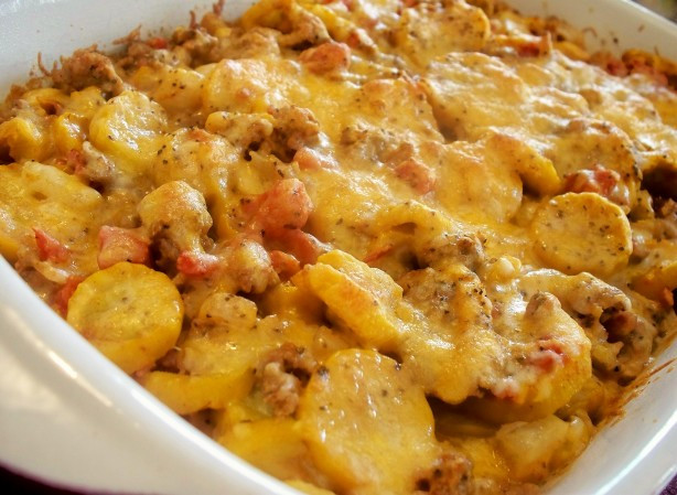 Ground Beef Casserole Recipes  Mexican Squash And Ground Beef Casserole Recipe Food