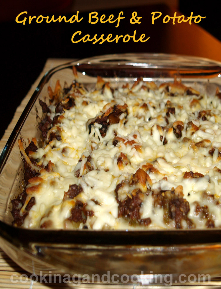 Ground Beef Casserole With Potatoes  Ground Beef & Potato Gratin Casserole Recipes