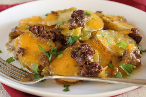Ground Beef Casserole With Potatoes  Best Casserole Recipes And Ideas Food