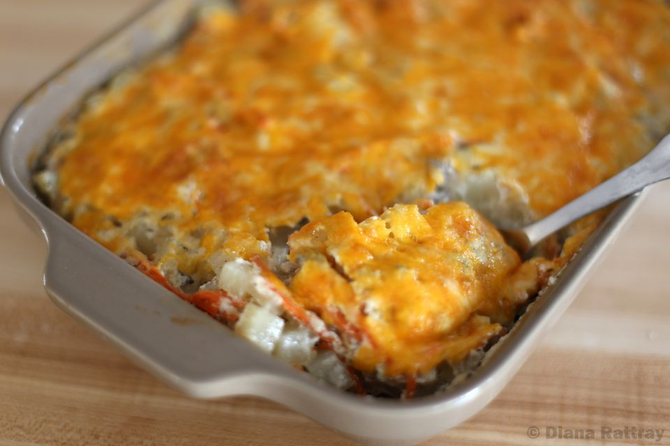 Ground Beef Casserole With Potatoes  Easy Ground Beef Casserole with Potatoes Recipe