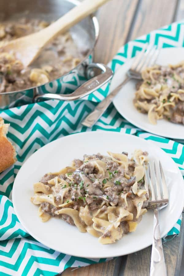 Ground Beef Cream Of Mushroom  ground beef cream of mushroom soup egg noodles