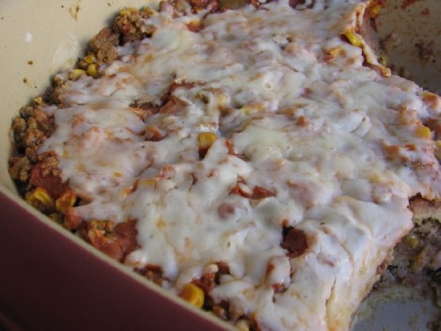 Ground Beef Enchilada Casserole  Slim & Healthy Ground Beef Enchilada Casserole Recipe