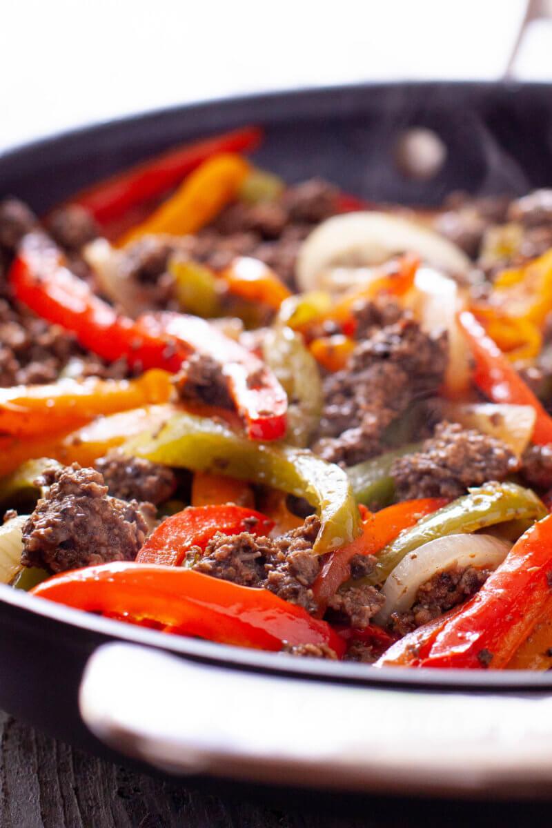 Ground Beef Fajitas  Fajitas Recipe with Ground Beef for Easy Weeknight Dinner