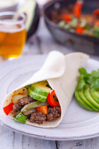 Ground Beef Fajitas  Eating Richly Page 2 of 109 Kid friendly foods rich in