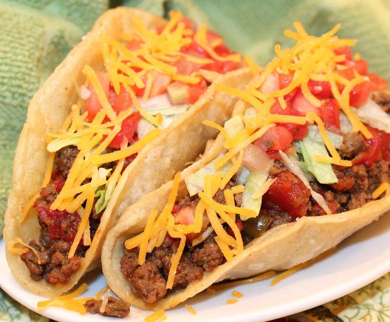 Ground Beef Fajitas  The difference between fajita & taco seasoning is More