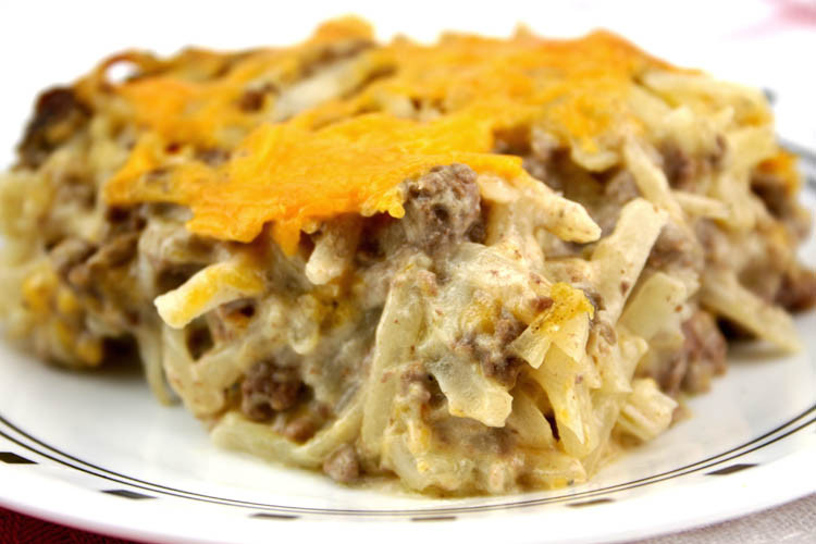Ground Beef Hash Brown Casserole  Hash Brown Casserole