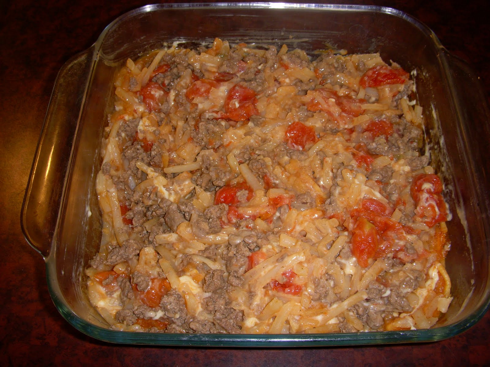 Ground Beef Hash Brown Casserole  My Gluten Free & Dairy Free Kitchen HASH BROWN & GROUND