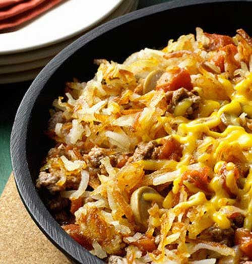 Ground Beef Hash Brown Casserole  1000 ideas about Cheesy Hash Browns on Pinterest