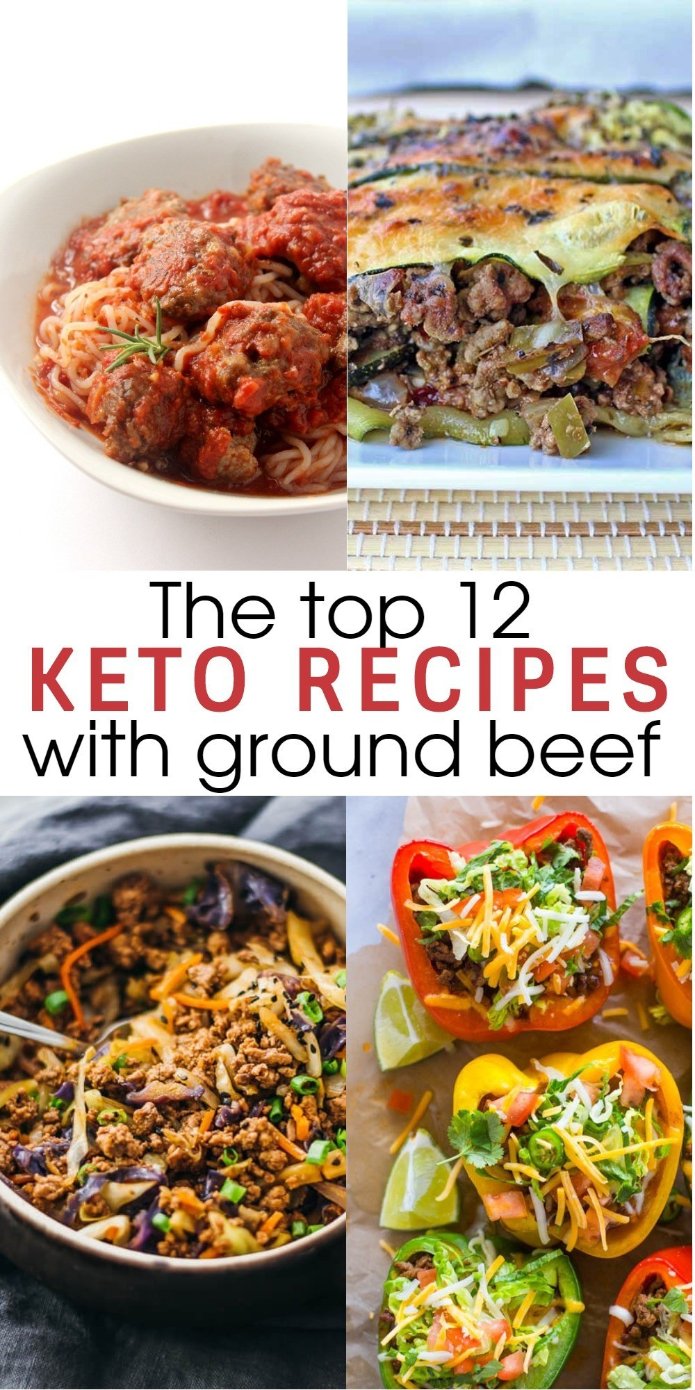 Ground Beef Ideas  12 Flavorful and Easy Keto Recipes With Ground Beef To Try