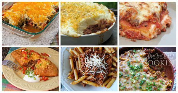 Ground Beef Ideas  Ground Beef Dinner Ideas 30 recipes for supper