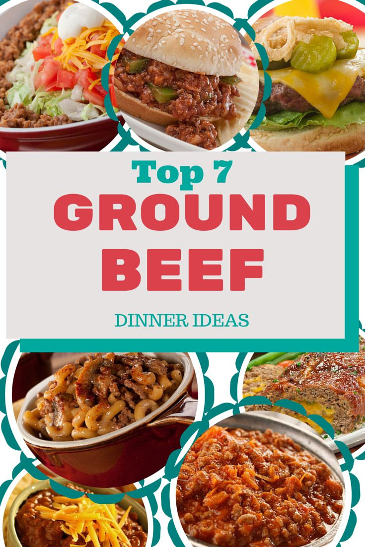 Ground Beef Ideas  58 best Easy Recipes with Ground Beef images on Pinterest