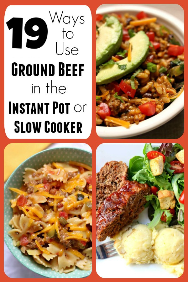 Ground Beef In Fridge For 7 Days  19 Ways to Use Ground Beef in the Instant Pot or Slow