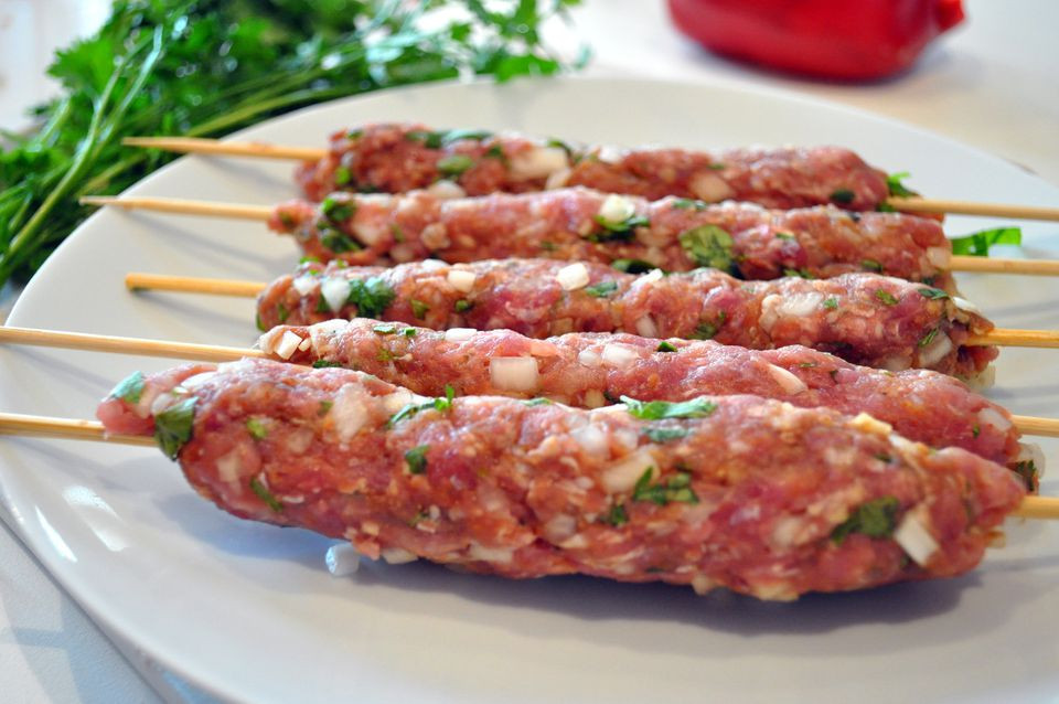 Ground Beef Kabobs  Moroccan Kefta Kebab Recipe With Ground Beef or Lamb