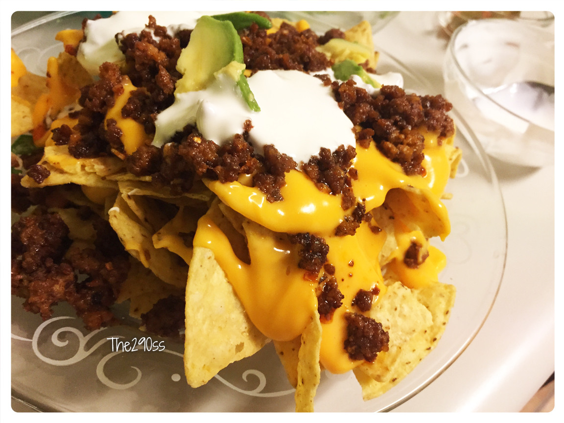 Ground Beef Nachos  The290ss Ground Beef Nachos Dinner Recipe
