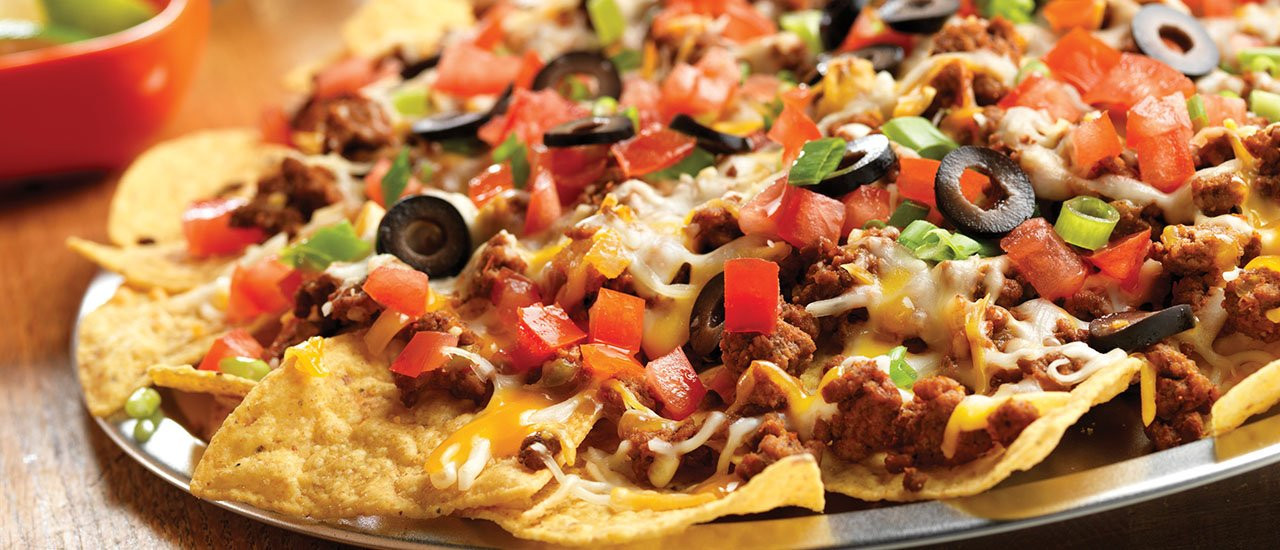 Ground Beef Nachos  Festive Taco Nachos Recipe
