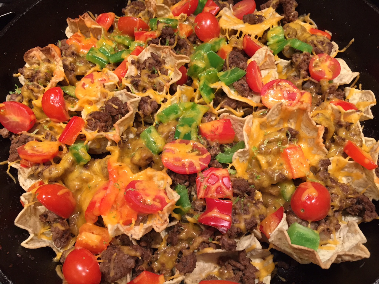 Ground Beef Nachos  Ground Beef Skillet Nachos Mom to Mom Nutrition