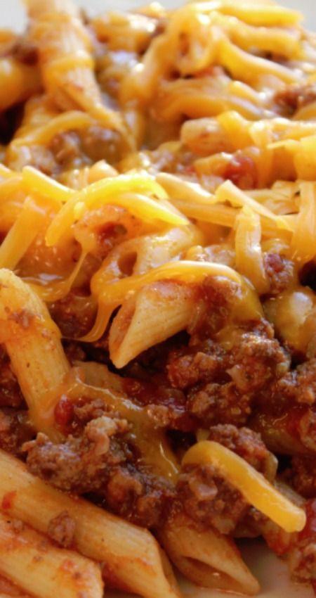 Ground Beef Pasta Casserole  1000 ideas about Ground Beef Pasta on Pinterest
