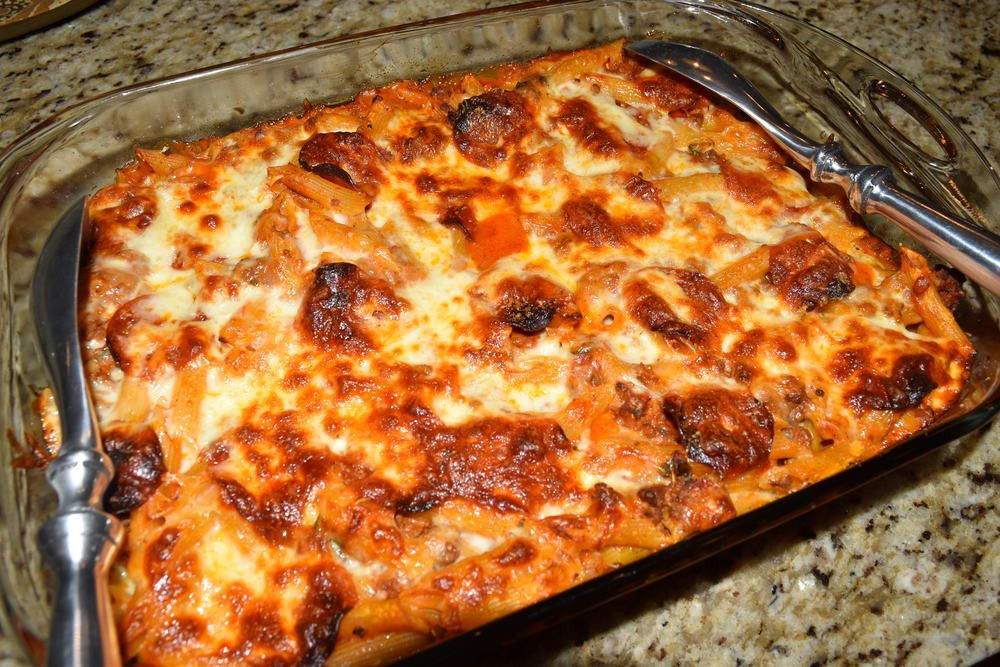 Ground Beef Pasta Casserole Recipes  easy ground beef and pasta casserole