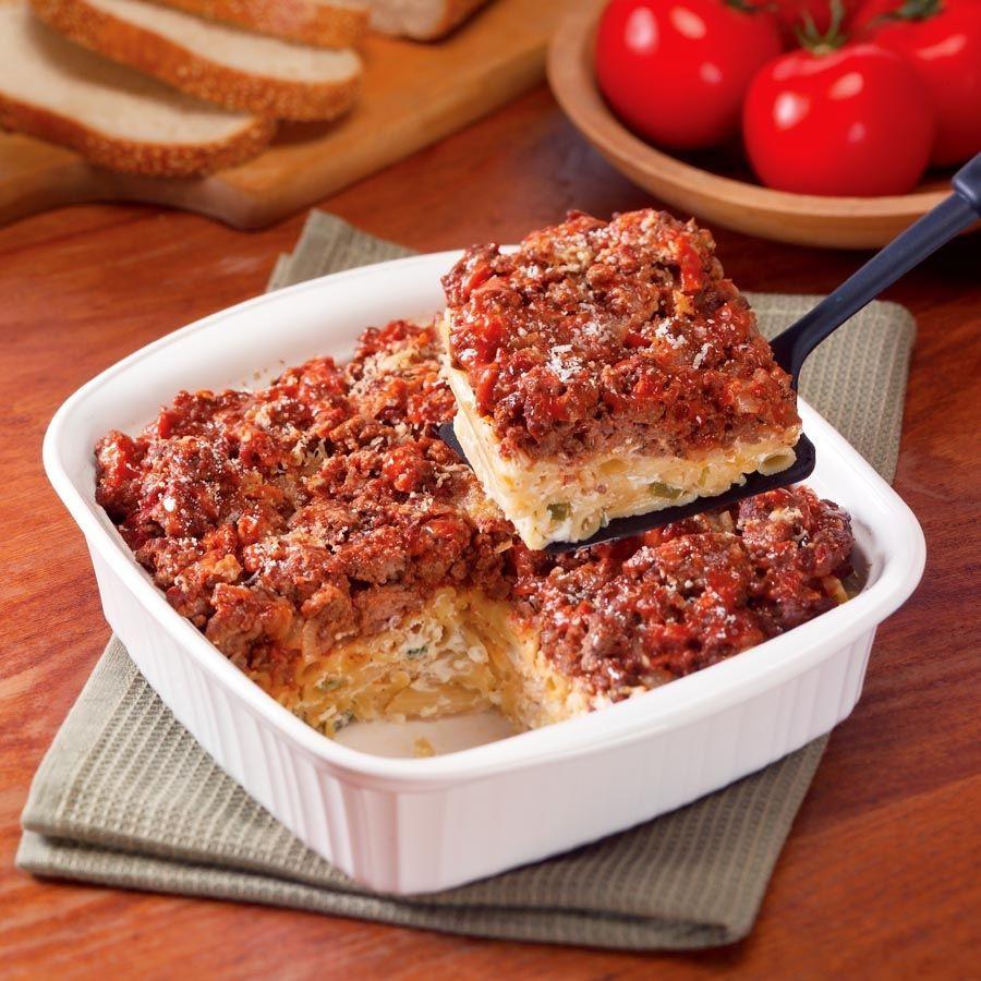 Ground Beef Pasta Casserole  baked pasta casserole ground beef