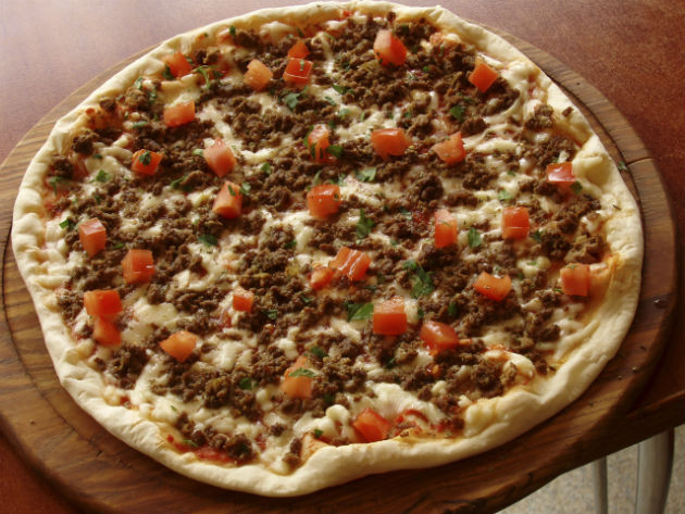 Ground Beef Pizza  Health Me Up Protein Power 7 Ways to Eat Lean Ground Beef